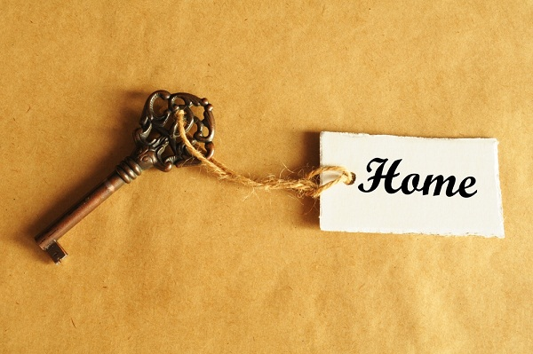home key on string
